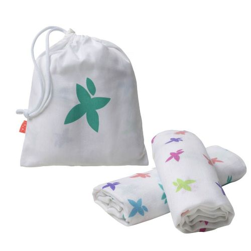Pack of 2 Super Soft Bamboo Muslins (Swaddle Bathing etc)